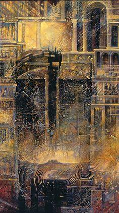 """Universe as Organism 2"" by Leigh J McCloskey"