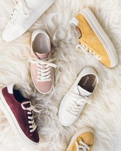 all the warm fuzzy feelings / our ibiza platform is back in new colors for fall New Sneakers, Casual Sneakers, White Sneakers, Leather Sneakers, Sneakers Women, Shoe City, Simple Shoes, Loafer Mules, Custom Shoes