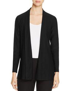 198.00$  Buy now - http://vijrh.justgood.pw/vig/item.php?t=xtpn3s29298 - Eileen Fisher Petites Shawl Collar Open Front Cardigan