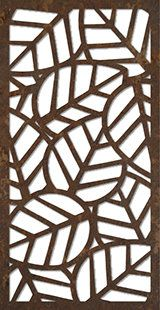 Layered Leaves - Artisan Panels, Inc Laser Cut Screens, Laser Cut Panels, Stencils, Stencil Art, Cnc Cutting Design, Laser Cutting, Stencil Patterns, Stencil Designs, Metal Art
