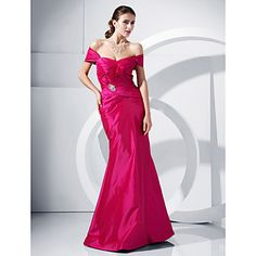 TS Couture® Prom / Formal Evening / Military Ball Dress Hourglass / Inverted Triangle / Pear / Rectangle / Plus Size / Petite / MissesTrumpet – USD $ 109.99