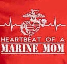 Heaetbeat Marine Mom Quotes, Usmc Quotes, Military Quotes, Military Mom, Military Party, Quotes Quotes, Romantic Love Quotes, Love Quotes For Him, Marine Corps Shirts