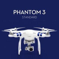 DJI Phantom 3 Standard FPV With 12MP Camera Shoots 2.7K Video RC Quadcopter RTF