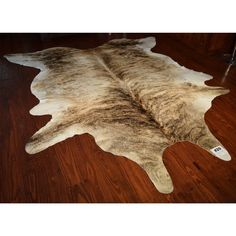 - Natural Light Exotic Cowhide. - This is an in-stock item, the cowhide photographed is the exact one you will receive. - Dims: 8' x 9' - Free Shipping Western Decor, Natural Light, Animal Print Rug, Exotic, Cabin, Free Shipping, Nature, Products, Naturaleza