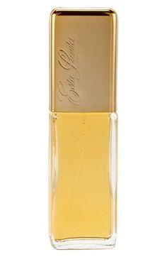 Estée Lauder 'Private Collection' Pure Fragrance Spray - my favorite fragrance.  Top notes: honeysuckle, jasmine, citrus. Middle notes: orange flower, ylang-ylang, coriander. Base notes: sandalwood, patchouli.  (=)