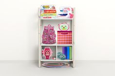 Shelfie, Storage, white, Midi A book case