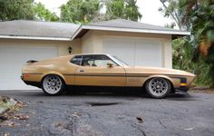 1972 Ford Mustang Mach 1 351 H.O.