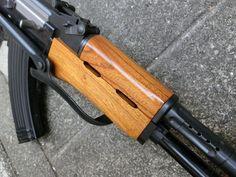 aohate custom! :AK47S AEG  wood custom