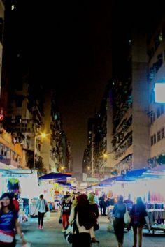 105/365 Night market near Nathan Road