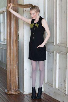 Black London Dress - 8000nerves