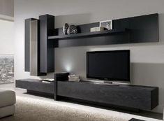 Living Room Wall Units, Living Room Tv Unit Designs, Home Living Room, Living Room Decor, Tv Unit Interior Design, Tv Unit Furniture Design, Tv Wall Design, Furniture Decor, Modern Tv Room
