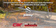 CAR & Leisure Wheels - Jimmy winner