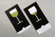 Wine Glass Brochure | Self - Promotion