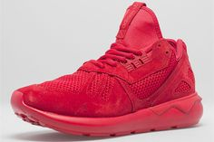 """adidas Originals Tubular Runner """"All Red"""" (Size? Exclusive)"""