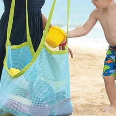 1 Pc Kids Baby Sand Away Carry Beach Toys Pouch Tote Mesh Large Children Storage Toy Collection Sand Away Beach Mesh Tool Baby Toy Storage, Kids Storage, Bag Storage, Mesh Tool, Sand Toys, Baby Wallpaper, Beach Toys, Pool Toys, Baby Kids
