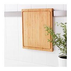 IKEA - RIMFORSA, Schneidebrett, Kann auch zum Servieren von Käse, Aufschnitt o. Ä. benutzt werden.