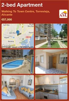 2-bed Apartment in Walking To Town Centre, Torrevieja, Alicante ►€57,000 #PropertyForSaleInSpain