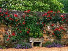 Gartenmauern Gestalten Ideen|20 Schne Ideenmit Denen Man Hof Und Garten Gestalten Kann