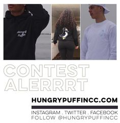 CONTEST ALERRRT  to celebrate @hungrypuffincc 's second drop they hooked me up with a new hoodie and a classic long sleeve ... so obviously it's CONTEST TIME! . All the usual contest stuff applies (pretend this is tickets for something) . Tag who you want to ... look super fresh with ... in the comments for a chance to win a shirt for both of you you'll have to flip for classic vs fresh. . actually tag as many people as you want for more chances to win BUT only one tag per comment.  and of…