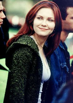 Kirsten Dunst in Spiderman: Mary Jane Watson Hollywood Actresses, Actors & Actresses, Spiderman Movie, Mary Jane Watson, Man Movies, Kirsten Dunst, Celebrity Beauty, Beautiful Actresses, Role Models