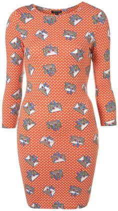 Topshop : African Envelope Dress