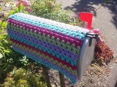 Mailbox Cozy (love the name....cozy! lol)