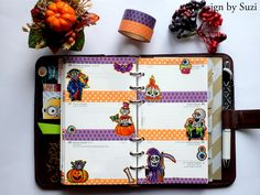 The week nr. 44 - Halloween week #planner