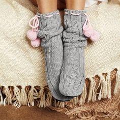 .pimp my socks with pom pom