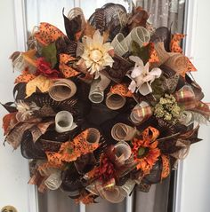 A personal favorite from my Etsy shop https://www.etsy.com/listing/487209881/fall-wreath-front-door-wreaths-fall