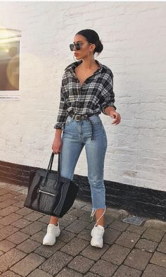 outfits ideas to 2019 casual fashion springs summer outfits and womens fashion trendy outfits Winter Fashion Outfits, Look Fashion, Spring Outfits, Womens Fashion, Fashion Drug, Ootd Spring, Fall College Outfits, Fashion Spring, Fashion Boots