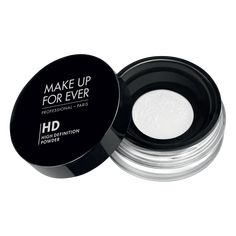 Make Up For Ever HD Powder - both invisible on HD cameras and to the naked eye.