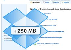 If you want some FREE space and great way to access you files anywhere, Dropbox is for you.