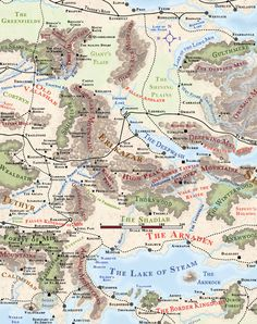 Erlkazar by Markustay Dnd World Map, Fantasy World Map, Rpg World, Dungeons And Dragons 5e, Dungeons And Dragons Homebrew, Dnd Characters, Fantasy Characters, Forgotten Realms, Dungeon Maps