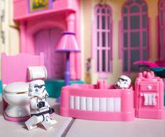 Stormtrooper, lego, stormtroops, bathroom, bath, toilet, star wars