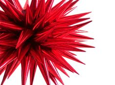 Items similar to Red Christmas Star Ornament Tree Spiky Ball Decoration Paper Polish Star Ornament Star Urchin Bauble Thistle Fireworks Dahlia - Ruby, 4 inch on Etsy Tree Decorations, Christmas Decorations, Red Christmas Ornaments, Ornament Tree, Christmas Is Coming, Bauble, Berries, Bows, Gift Ideas