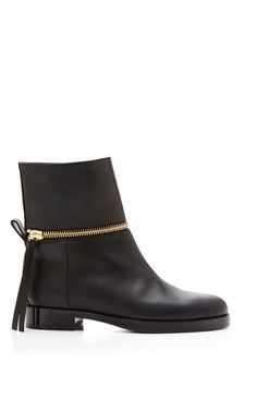 Matt Calf Black Tom Boot by Pierre Hardy for Preorder on Moda Operandi