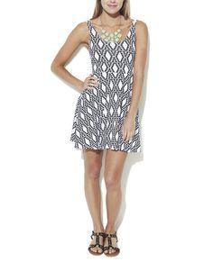 Aztec Tank Skater Dress   Shop Dresses at Wet Seal       WANT