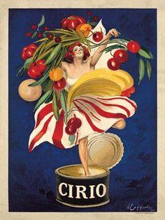 Leonetto Cappiello Vintage Cirio Ad Fine Art Print