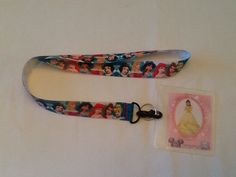 DISNEY PRINCESSES Lanyard  with ID Holder great for Disney World on Etsy, $9.00