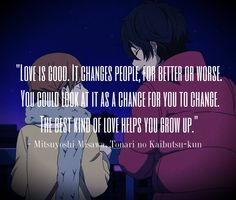 toradora quotes | nice quotes about anime