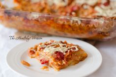 Vegetable Lasagna – The Healthy Version How To Make Lasagna, Bolognese Sauce, Macaroni And Cheese, Vegan, Dishes, Baking, Vegetables, Healthy, Ethnic Recipes