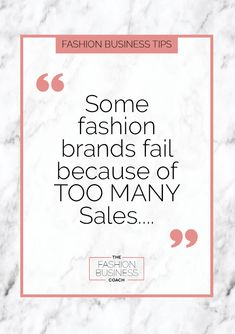 Did you know that some fashion brands fail because they make too many sales? Who knew that could be a problem! In this post I reveal how that almost happened to me and what you can do do avoid the same happening to you. Sustainable Fabrics, Sustainable Living, Sustainable Fashion, What You Can Do, Told You So, Fashion Illustration Dresses, Fashion Marketing, Pattern Cutting, Fashion Line
