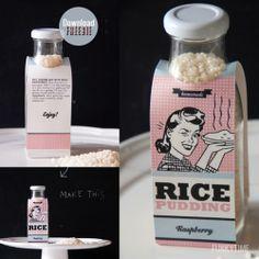 packaging retro/vintage