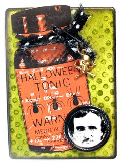 Halloween Tonic by sharonwisely - Cards and Paper Crafts at Splitcoaststampers