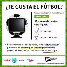¿Te gusta el fútbol? (Europa League)