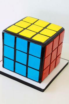 Another Rubik's cube cake