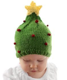 Christmas Tree Baby Hat Pattern