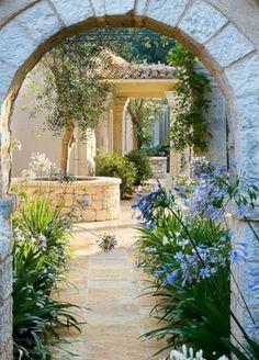 Cool 50 Beautiful Mediterranean Terrace And Patio Decor Ideas. More at https://homenimalist.com/2018/04/10/50-beautiful-mediterranean-terrace-and-patio-decor-ideas/