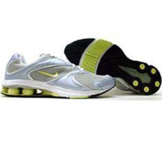 Nike Womens Shox Allegria (propoise / white / lymon / silver) 308769-411 - $89.99