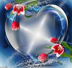 Lissy-heart in blue Good Morning Love Messages, Good Morning Beautiful Images, Beautiful Love Pictures, Green Screen Video Backgrounds, Flower Backgrounds, Pink Wallpaper Iphone, Heart Wallpaper, Happy Birthday Piano, Free Green Screen